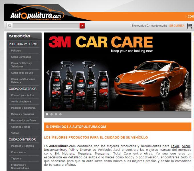 Autopulitura.com - Tienda en línea - Desarrollo y Diseño Web