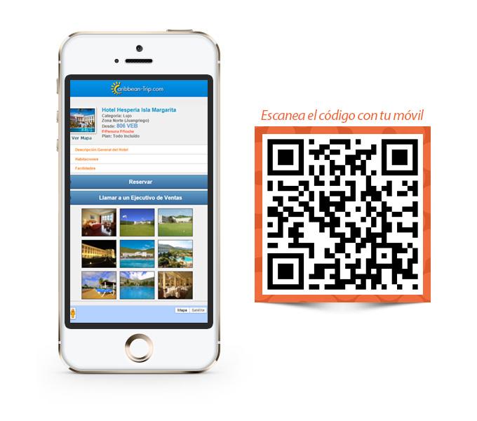 Diseño Web Mobile - Caribbean Trip