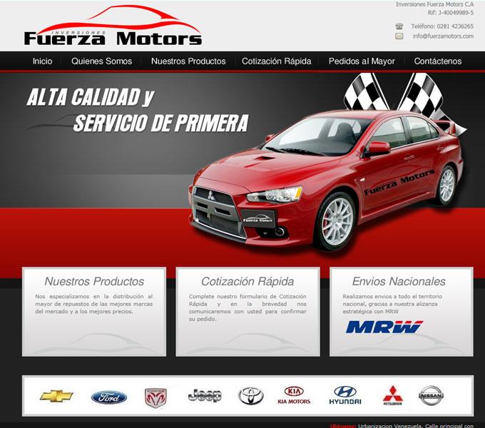 Ford Fuerza Motors Venezuela