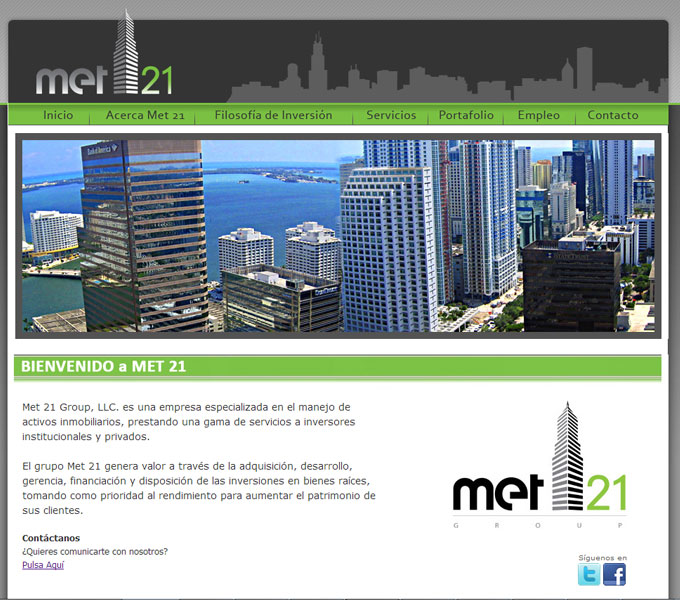 Met 21 - Real State - Miami